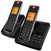 Motorola Cordless Telephone Twin CD212 Black