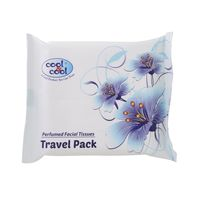Cool & Cool Perfumed Facial Tissues Travel Pack 20's