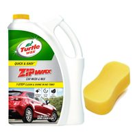 Turtle Wax Zip Wax Car Wash 1.89Ltr+Sponge