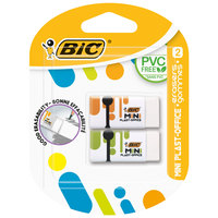 Bic Mini Plast Office Eraser 2Pc