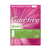 Carefree Ladies Pads Aloe Vera 30 Napkins