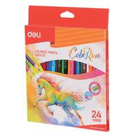 Deli Colored Pencil 24Pc Colorun