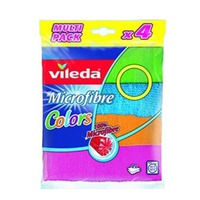 Vileda Microfibre Roll 4 Pieces