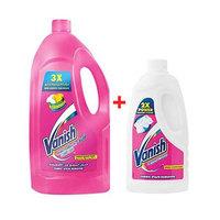 Vanish Stain Remover Pink 3L + Vanish White 500ML Free