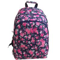 "Janboots Pink Roses Backpack 18"""