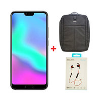 Honor 10 Dual SIM 128GB  Black + Bag And Headset