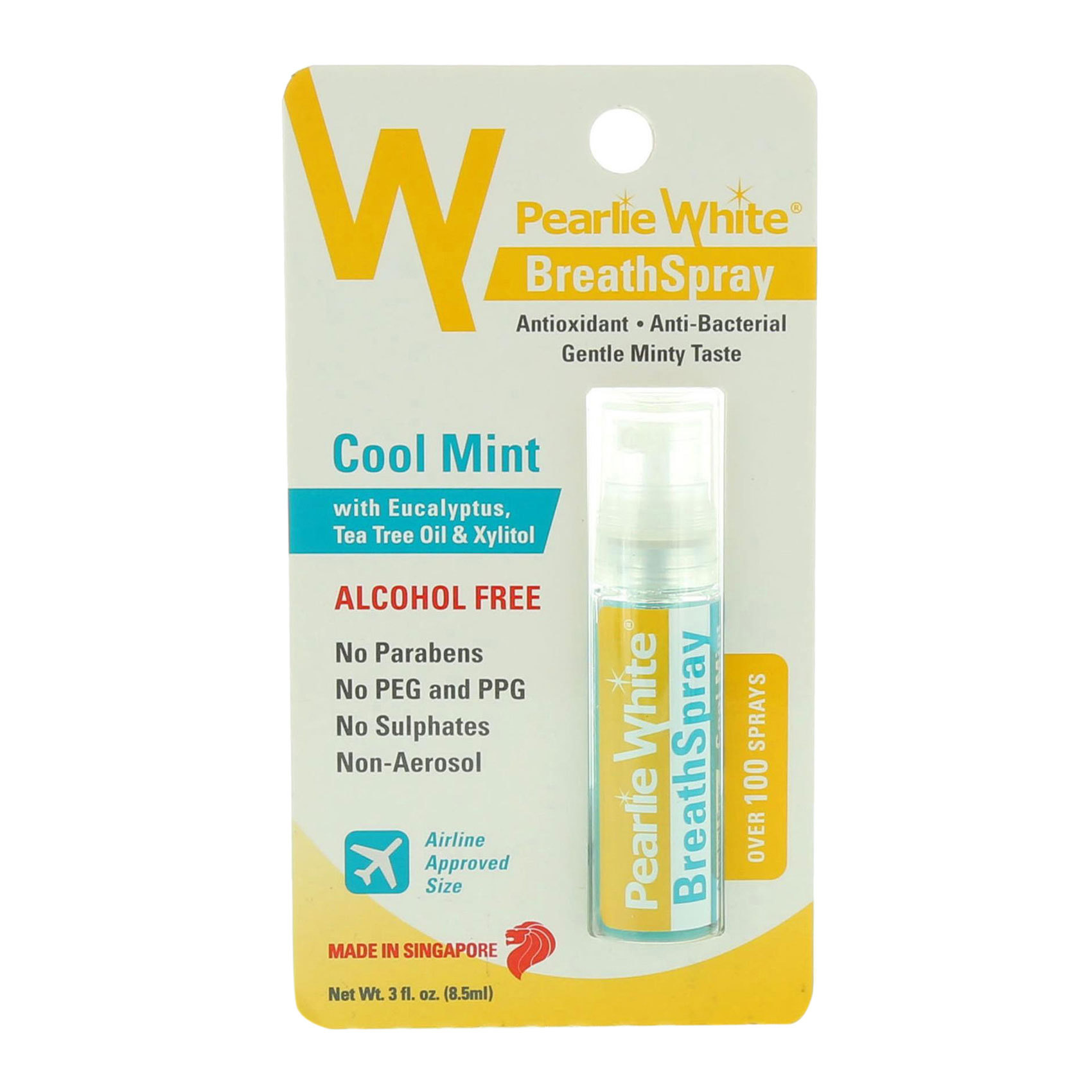 PEARLIE WHITE B.SPRAY-COOLMINT8.5ML