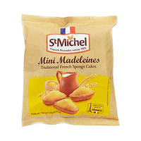 St Michel Mini Madeleine Traditional French Sponge Cakes 175GR