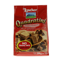 Loacker Quadratini Bite Size Wafer Cookies 250g