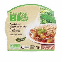 Carrefour Bio Organic Quinoa Vegetable Plate 350g
