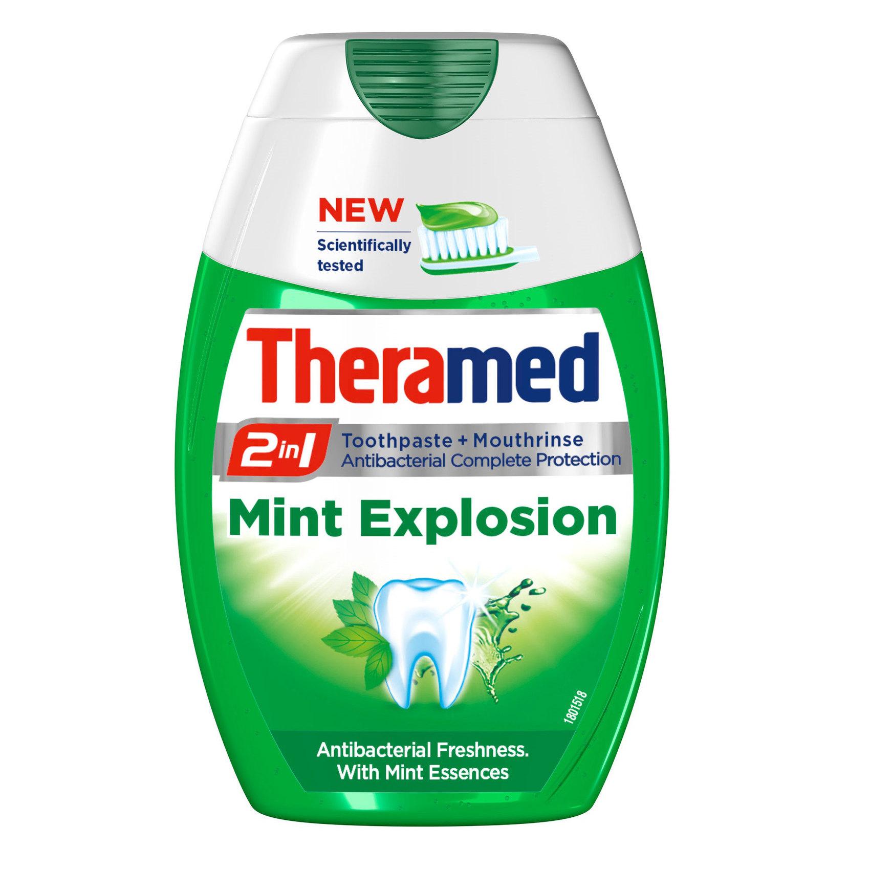 THERAMED T/PASTE MINT EXPLOS'N 75ML