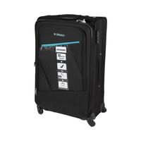 Morano Soft Luggage 4 Wheels Size 28 Inch  Black