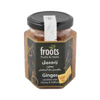 Froots Fruits And Roots Jam Ginger Candied With Honey And Saffron Original 230 Gram