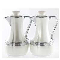 Flask 0.7+1L 2925-White & Silver