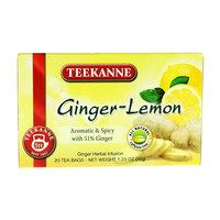 Teekanne Aromatic And Spicy Ginger Lemon 20 Bag