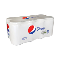 Pepsi Soft Drink Can Diet 330ML X8