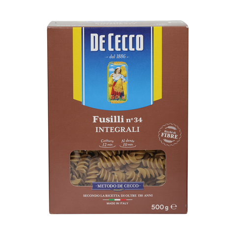 Dececco-Fusilli-N°-34-Integrali-500g