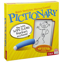 Mattel Games - Pictionary Board Game