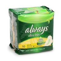 Always Ultra Thin Normal 10 Pads