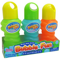 Power Joy Bubble Water Set 3 120Ml Assorted