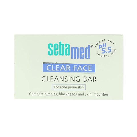 Sebamed-Clear-Face-Acne-Prone-Skin-Cleansing-Bar-150G