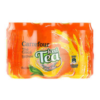 Carrefour Iced Tea Peach 330mlx6