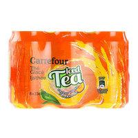 Carrefour Iced Tea Peach 330mlx6