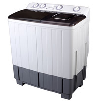 Daewoo 11KG Top Load Washing Machine Semi-Automatic DW-110KASD