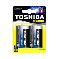 Toshiba Alkaline Blue D 2 Batteries