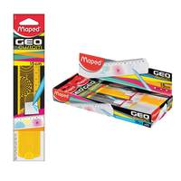 Maped Ruler 15cm Geo Custom Flat (Randomly Assorted)