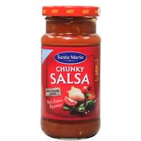 Santa Maria Chunky Salsa Hot 230g