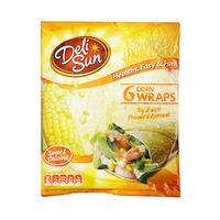Delisun Tortilla Wraps 360GR 6 Pieces