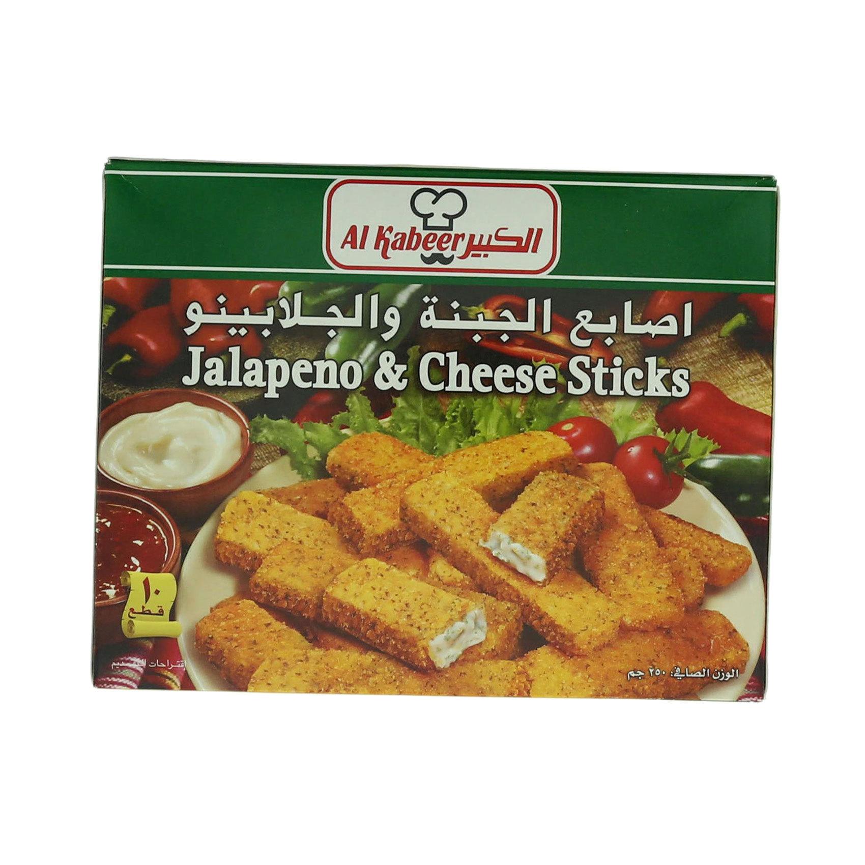 AL KABEER STICKS JALAP/CHEESE 250G