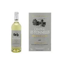 Chateau Les Tonnelles Bordeaux Fluffy White Wine 75CL
