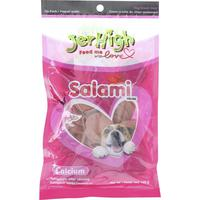 Jerhigh Dog Snack Salami 100g
