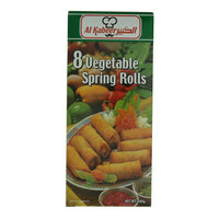 Al Kabeer 8 Vegetable Spring Rolls 280g