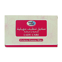 Cool & Cool Lady Care Exclusive Feminine 12 Wipes