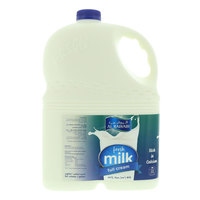 Al Rawabi Full Cream Fresh Milk 1 Gallon