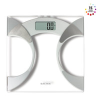 Salter Digital Bathroom Scale 9141 WH3R White, Analyser