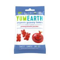 Yumearth organic gummy bears pomegranate pucker 50 g