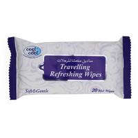 Cool & Cool Travelling Refreshing Wipes 20 Wipes