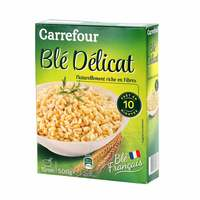 Carrefour whole wheat hard precooked 500 g