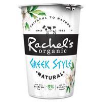 Rachel's Organic Low Fat Greek Style Natural Yogurt 450g
