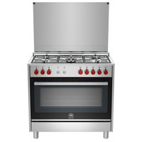 La Germania 90X60 Cm Gas Cooker RIS-95C31DX 5Burners