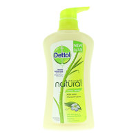 Dettol Anti Bacterial Natural Caring Shower Gel 500 ml