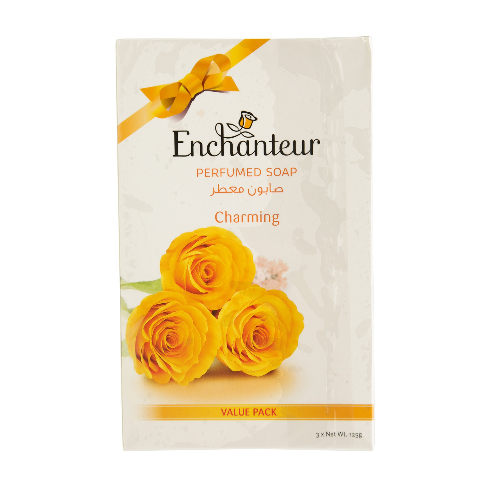 ENCHANTEUR CHARMING SOAP 125GX3