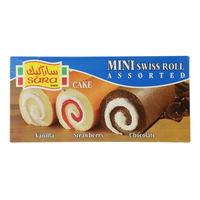 Sara Cake Mini Swiss Roll Assorted 20g x20