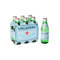 San Pellegrino Water Sparkling 250 Ml 6 Pieces