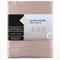TEX Quilt Cover King Beige