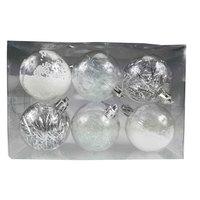 Balls Set 6Pcs 60Mm Transparent